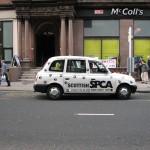 glasgow taxi cab