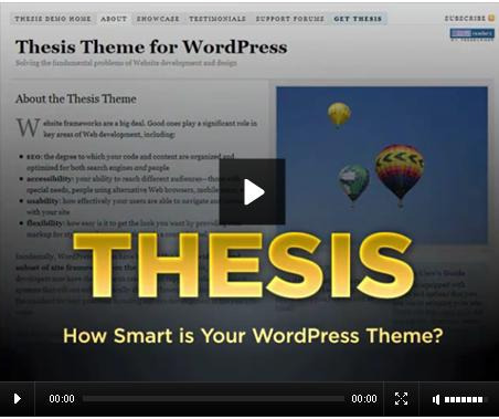 thesis like theme for wordpress In the past few days, wordpress has become entangled in a debate about wordpress theme licensing it was specifically centered around thesis, one of the last notable proprietary theme holdouts chris pearson, who develops and sells thesis, refuses to license thesis under the gnu general public .