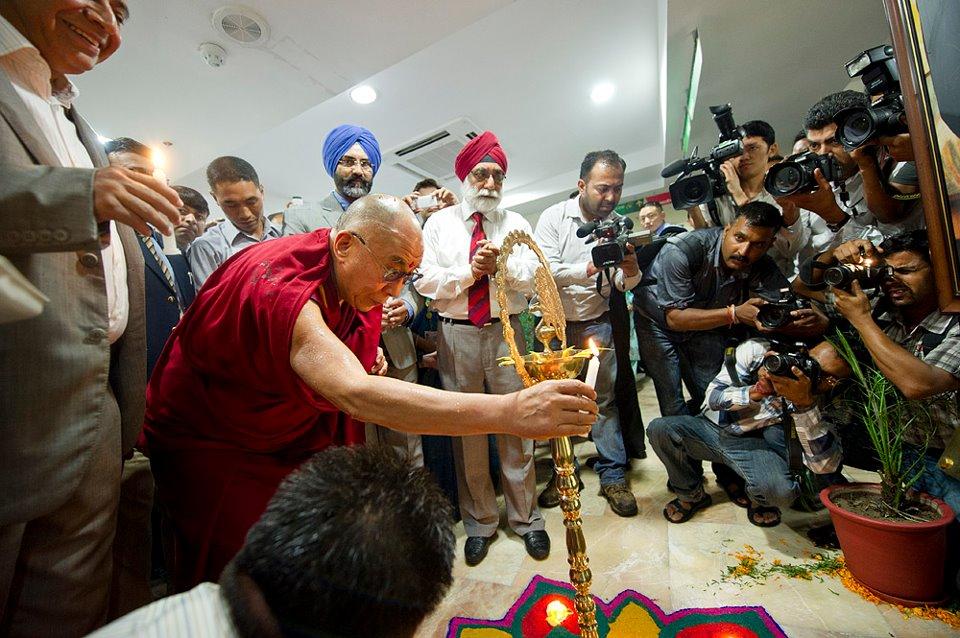 Dalai Lama - Hospital Inauguration