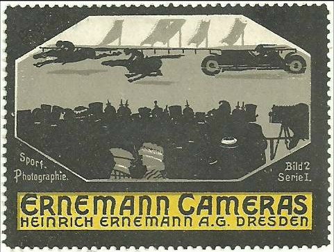 poster stamp - photography - ernemann cameras