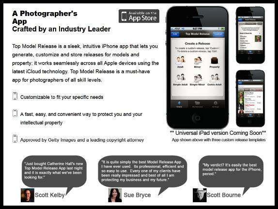top model release app store