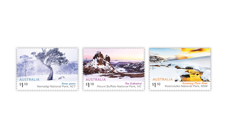 photography on stamps australia